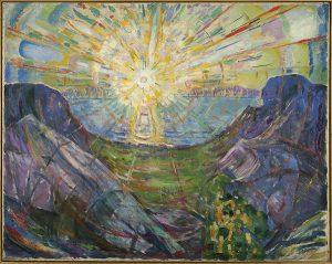 Edvard Munch – Le Soleil – 1912