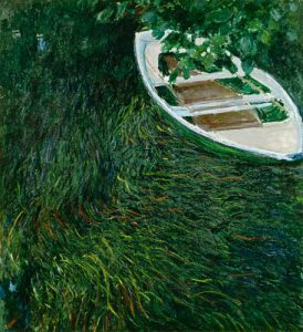 Claude Monet – La Barque – 1890