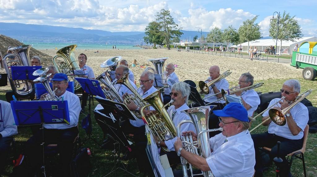 13 juillet – Concert de l'Ensemble des cuivres Broyards