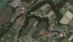 Carte des lieux des fenêtre de l'Avent, version 2018